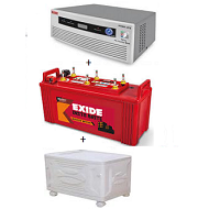 Exide 900VA Inverter Package