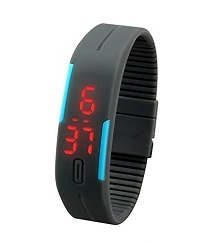 Digital Jelly Super Slim LED Watch for Women