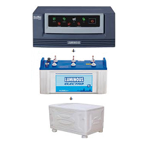 Lumonous 1650VA Inverter Package