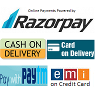 Payment Options on HomeShop16.in