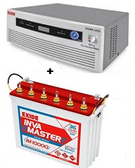 Exide 700VA Inverter Package