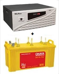 Sukam 900VA Inverter Package