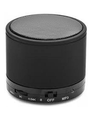 Soroo S10 Mini portable Travel Bluetooth Portable Bluetooth Mobile/Tablet Speaker  (black, 2.1 Channel Channel)