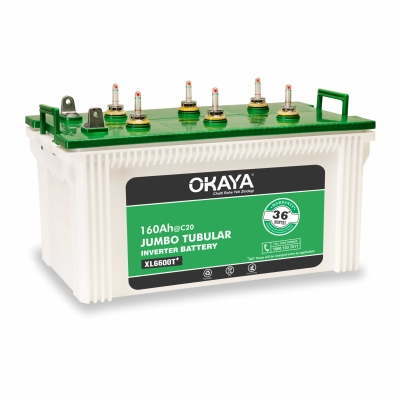 Okaya 160AH Jumbo Tubular Battery