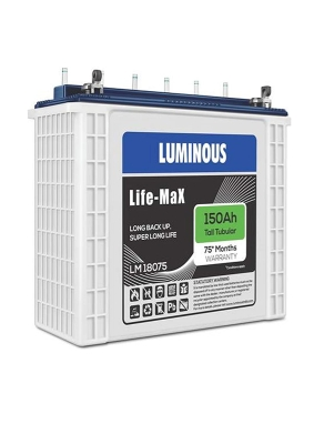 Luminous Life Max 150AH Tall Tubular Battery