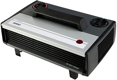 Usha 812T Heat Convector 2000-Watt with Instant Heating Feature Black