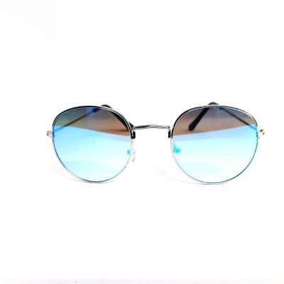 Mirrored Oval Ice Mercury New Style Unisex Sunglasses