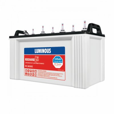 Luminous Red Charge 135AH Tubular Inverter Battery
