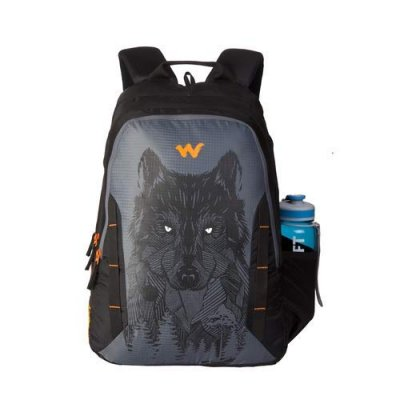 Wildcraft 44 Ltrs Wolf_Blk Casual Backpack