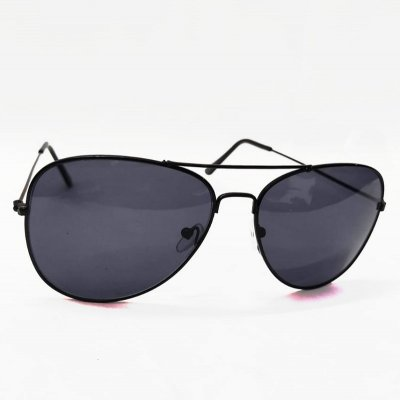 Mirrored Aviator Black Demanded Sunglasses Fit For All Unisex