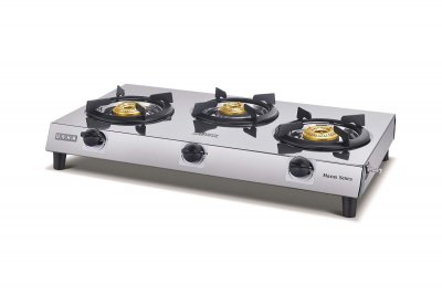 Usha MAXUS 3 Burner COOK TOP Stainless Steel