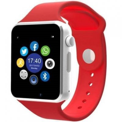 A1 Smart Watch Android OS compatible Red