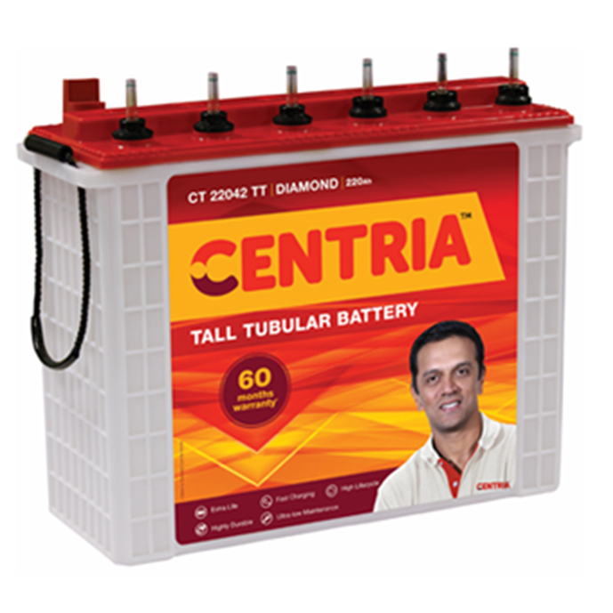Centria 160AH Tubular Inverter Battery