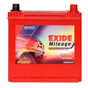 Exide Mileage 68AH Car Battery