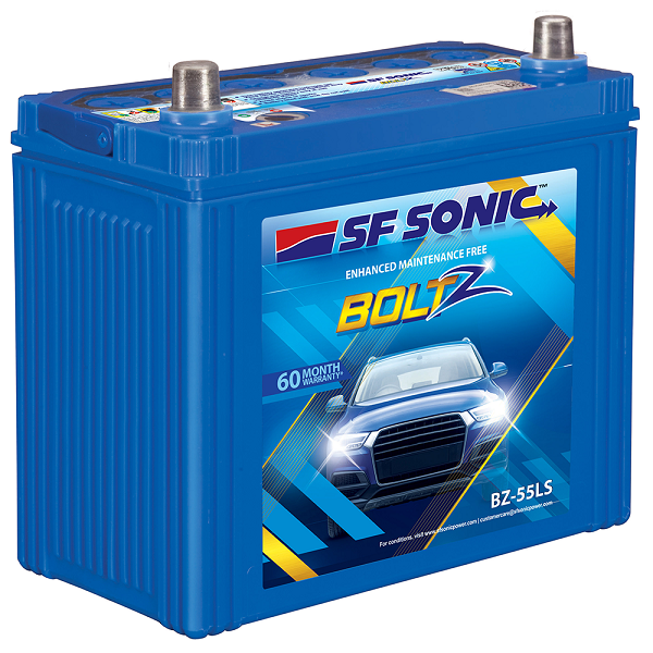 SF Sonic Boltz 45AH Car Battery